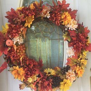 "COPY - Absolutely Beautiful Fall Wreath 26x26""!!💕💕"